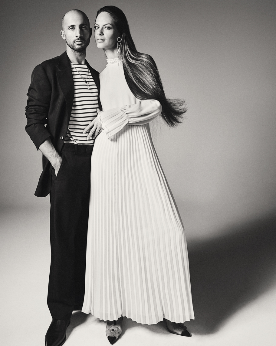 Willem de Bruin and La Toya Velberg for Vogue NL