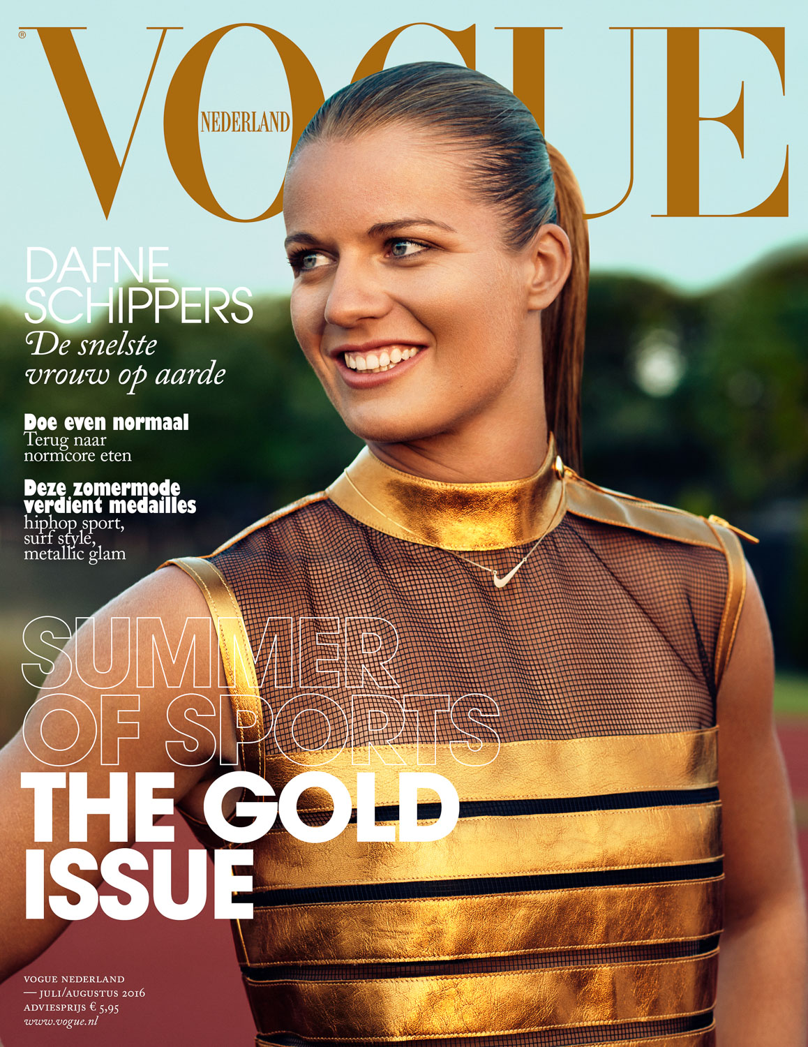 Dafne Schippers for VogueNL by Marc de Groot
