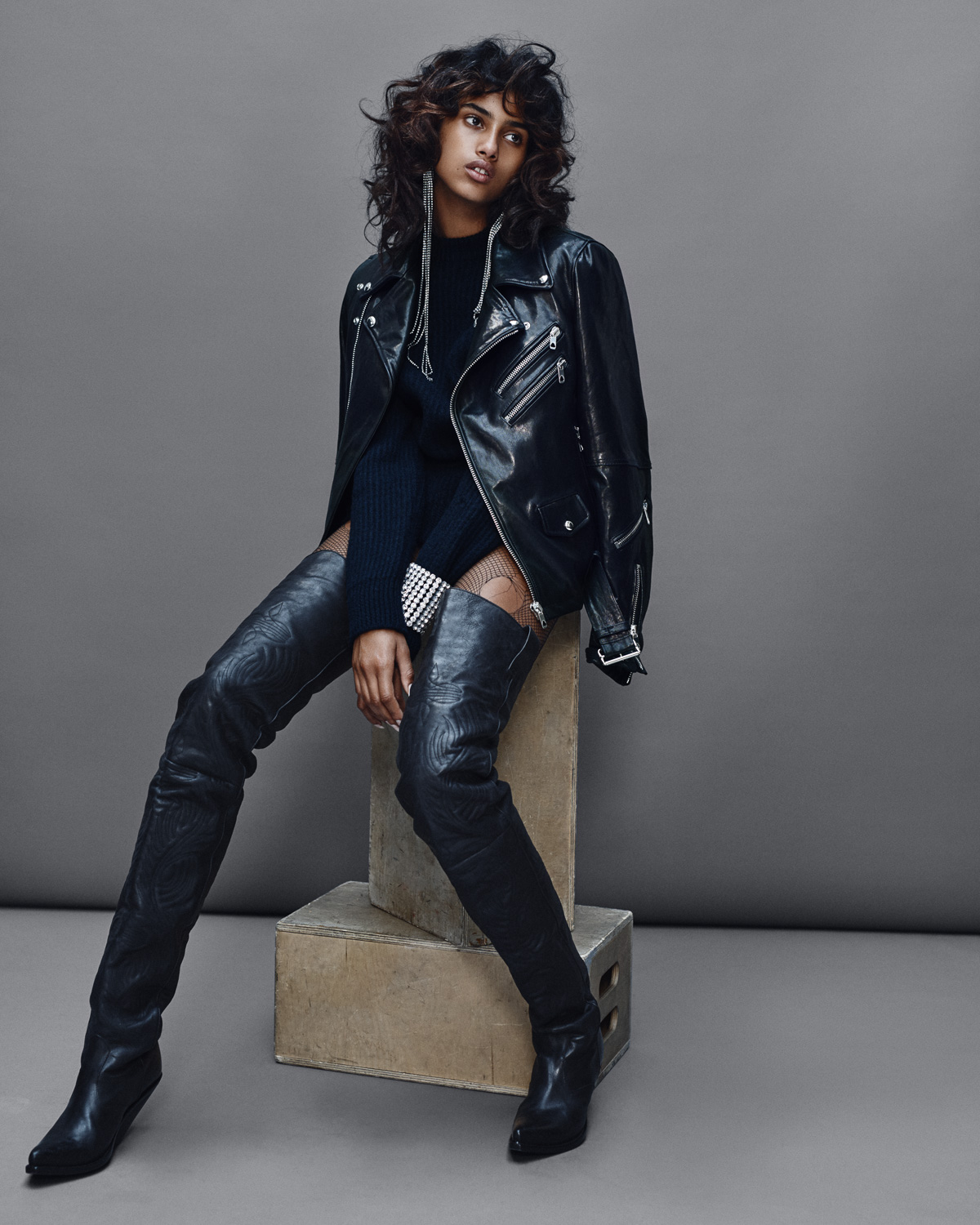 Imaan Hammam for VogueNL by Marc de Groot