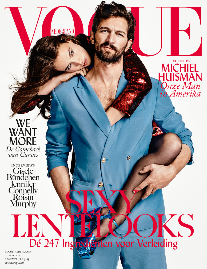 Michiel Huisman and Crista Cober for VogueNL by Marc de Groot