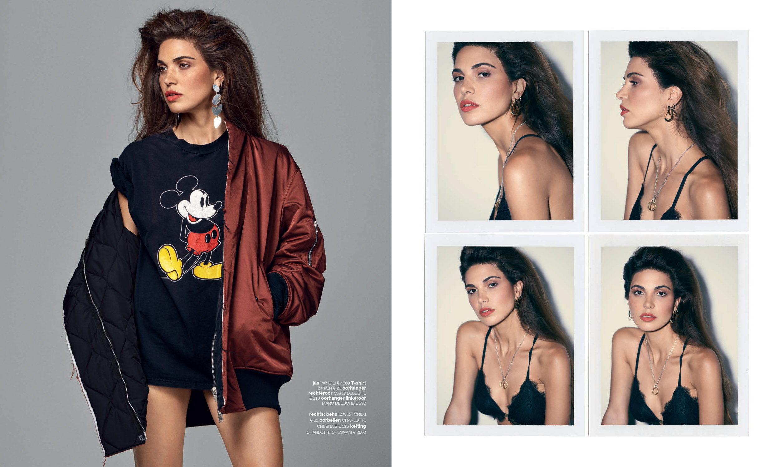 Negin Mirsalehi for LINDA by Marc de Groot