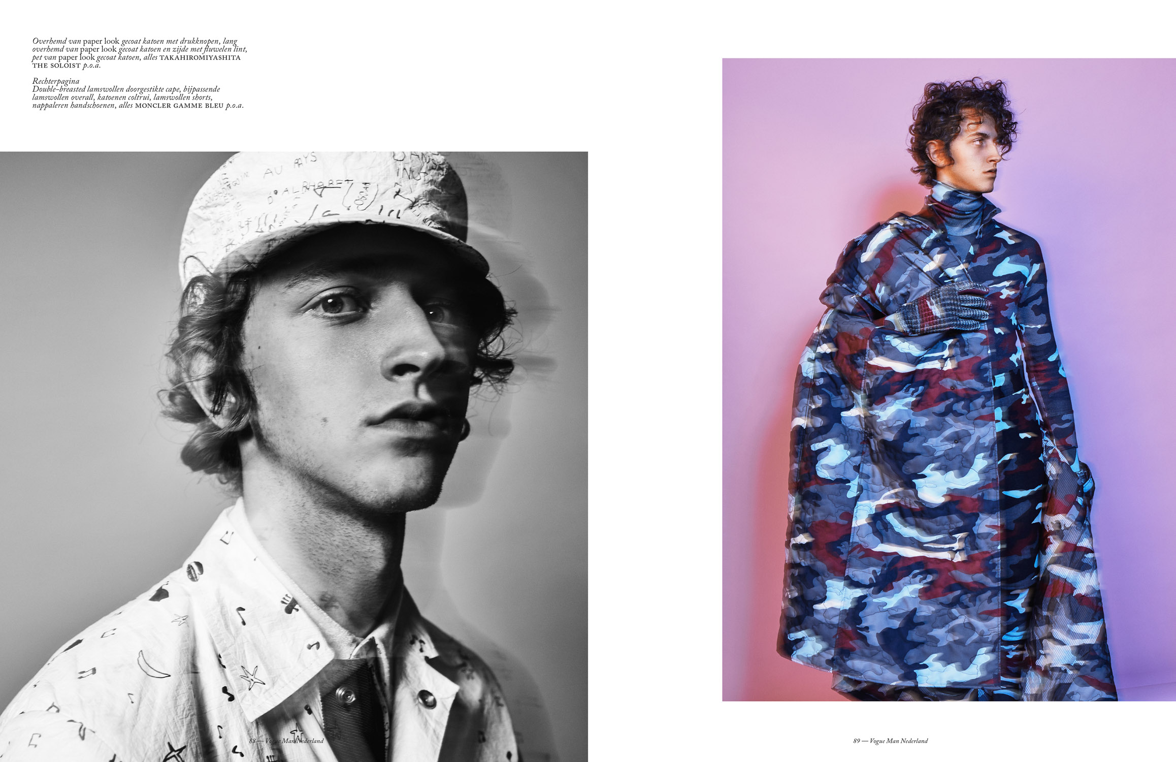 Niels Trispels for VogueMAN by Marc de Groot