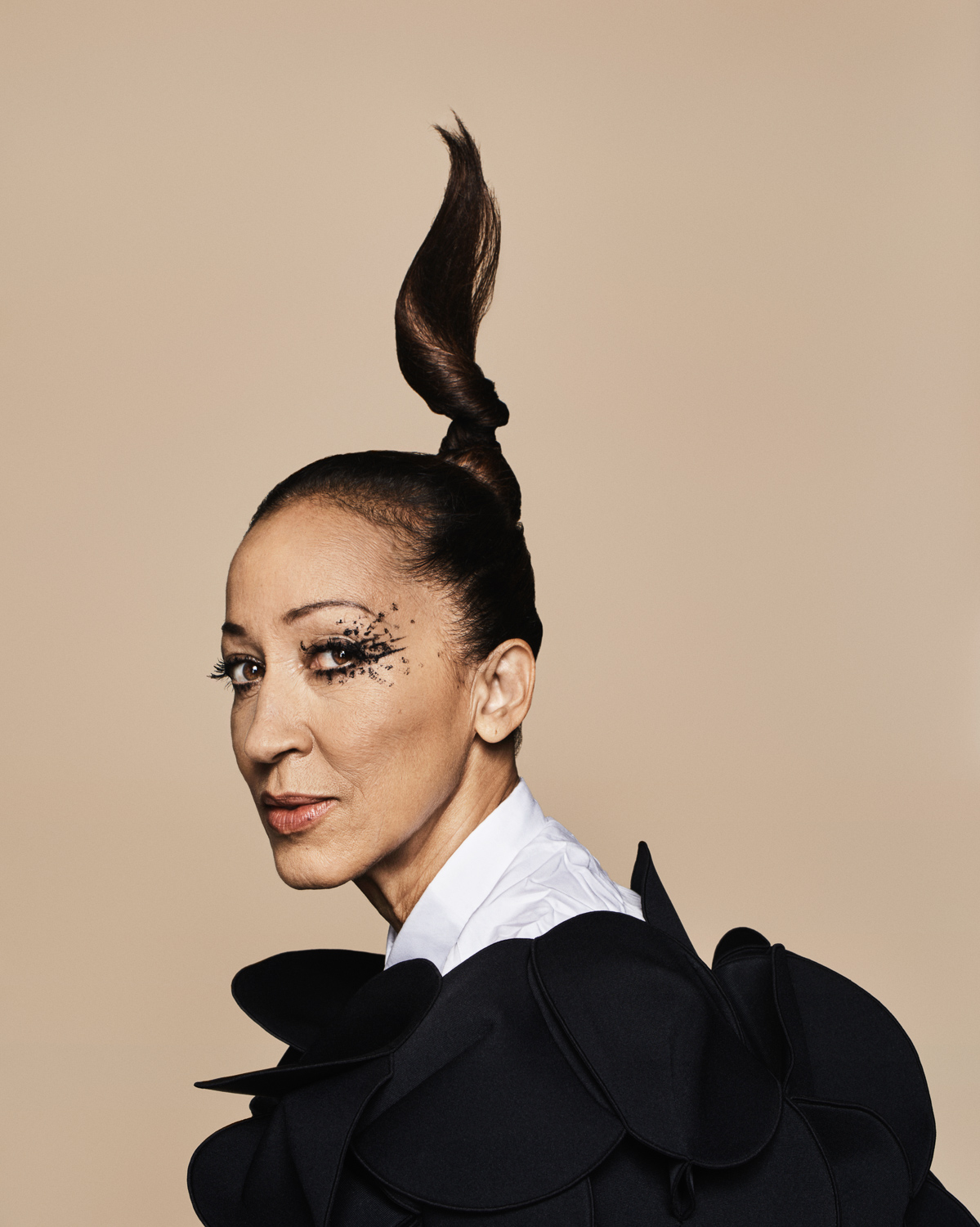 Pat Cleveland for VogueNL by Marc de Groot