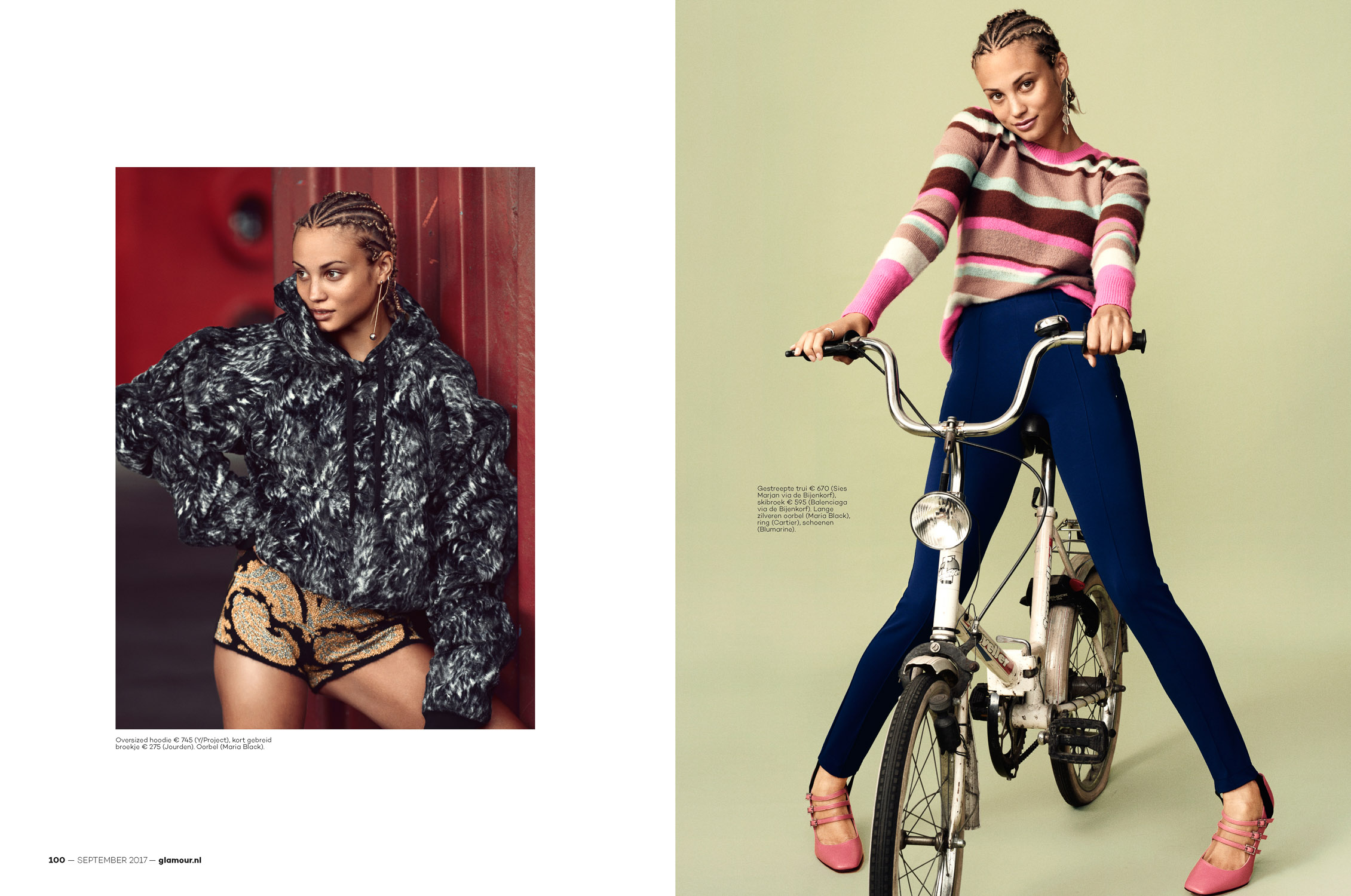 Rose Bertram for Glamour NL by Marc de Groot