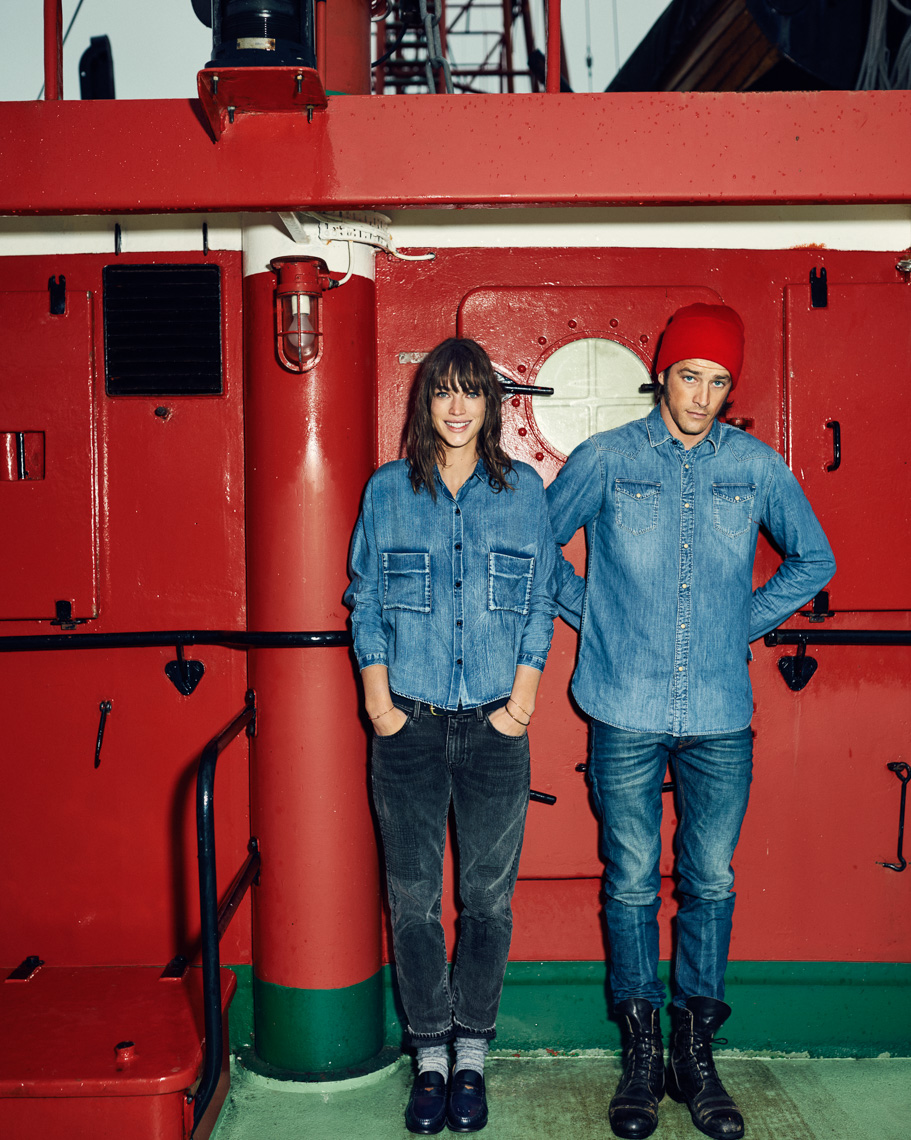 Scotch and Soda Denim FW15 by Marc de Groot
