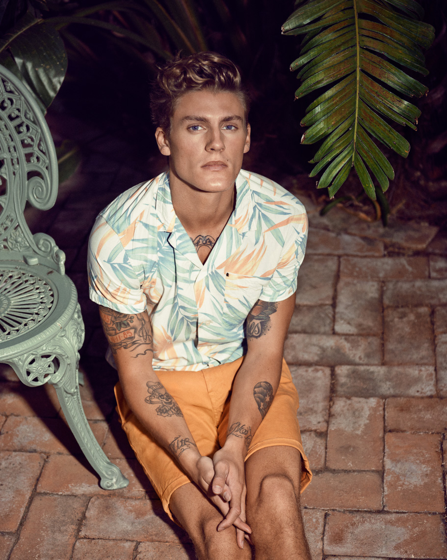 Mikkel Jensen for Scotch and Soda Main Line SS15 by Marc de Groot