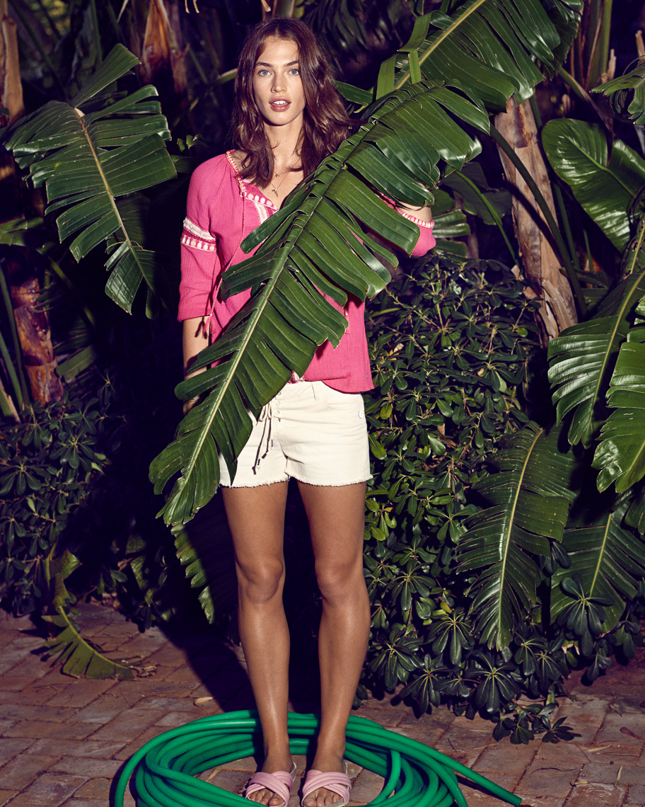 Crista Cober for Scotch and Soda Main Line SS15 by Marc de Groot