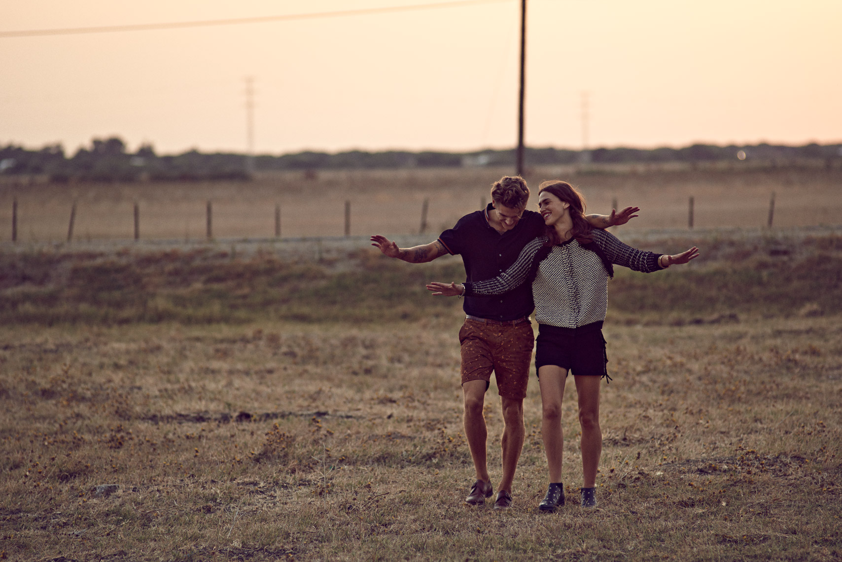 Crista Cober and Mikkel Jensen for Scotch and Soda Main Line SS15 by Marc de Groot
