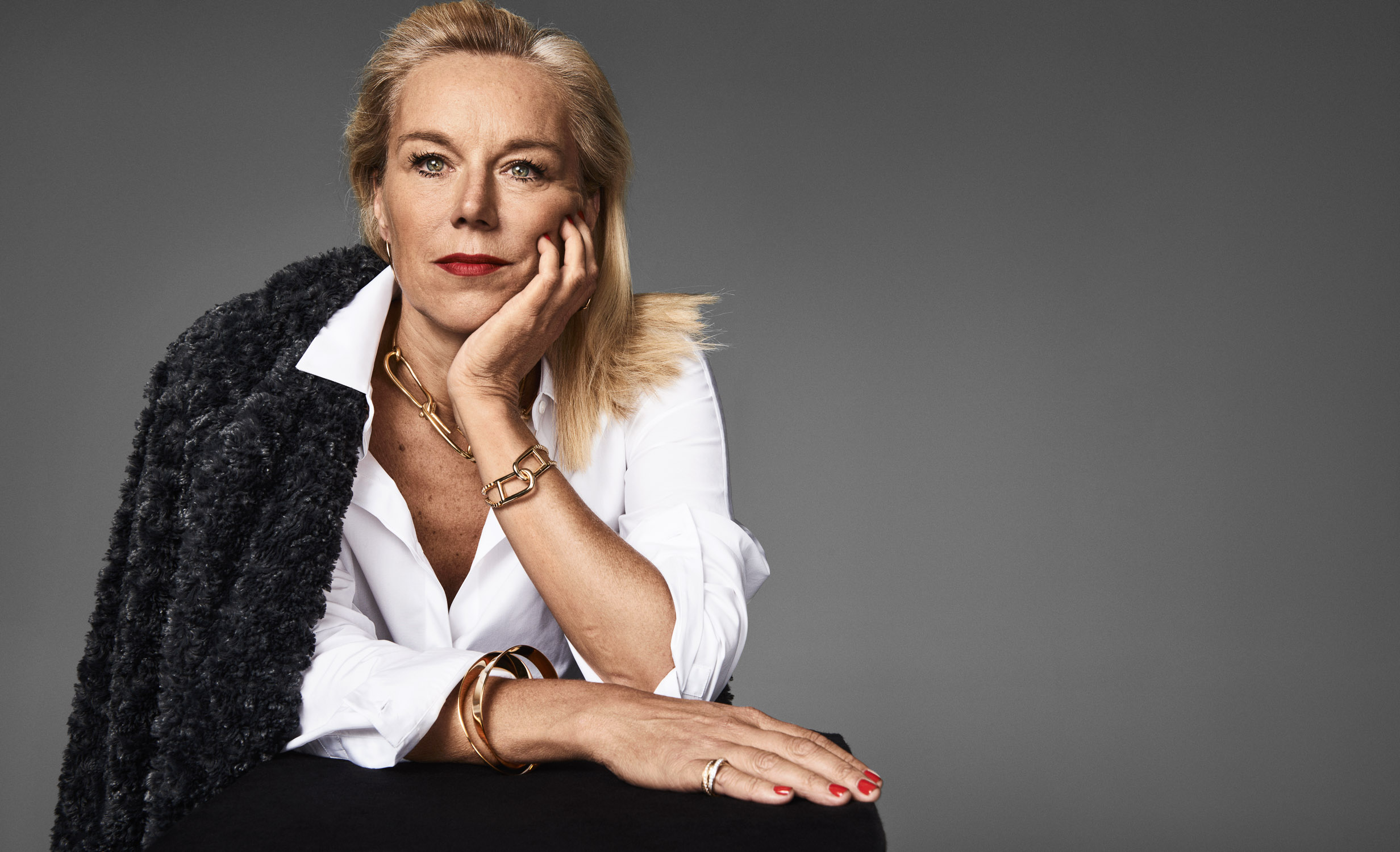 Sigrid Kaag for VogueNL by Marc de Groot