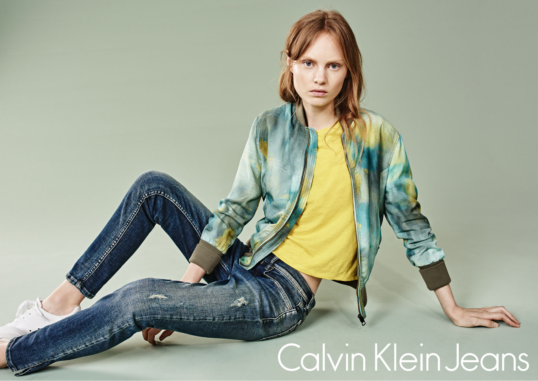 Steffi Soede for CK Jeans by Marc de Groot