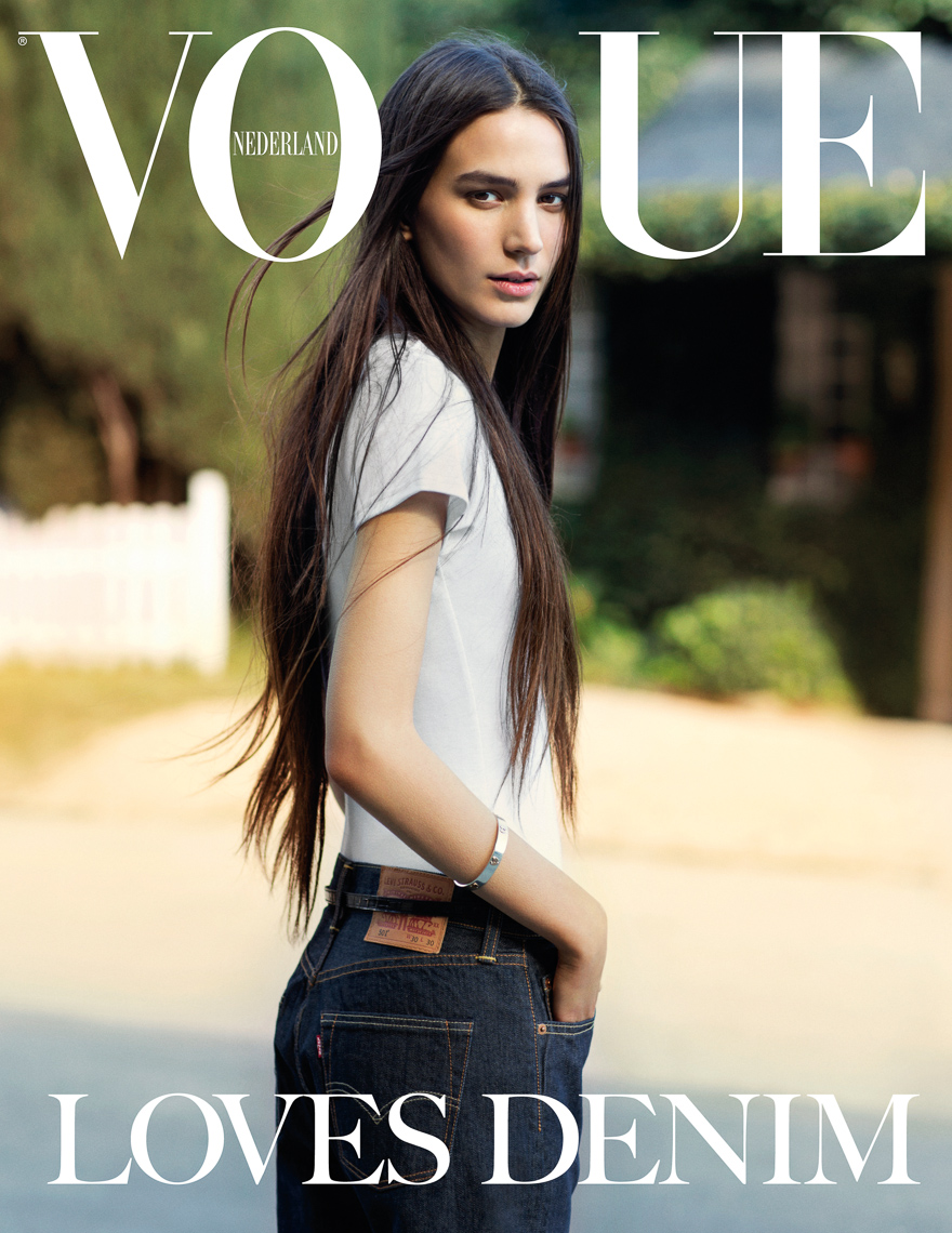 Vogue Jeans with Mijo Mihaljcic by Marc de Groot