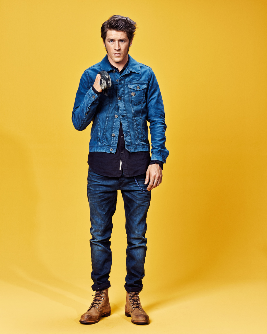 Vinnie Woolston for Scotch and Soda Denim FW15 by Marc de Groot