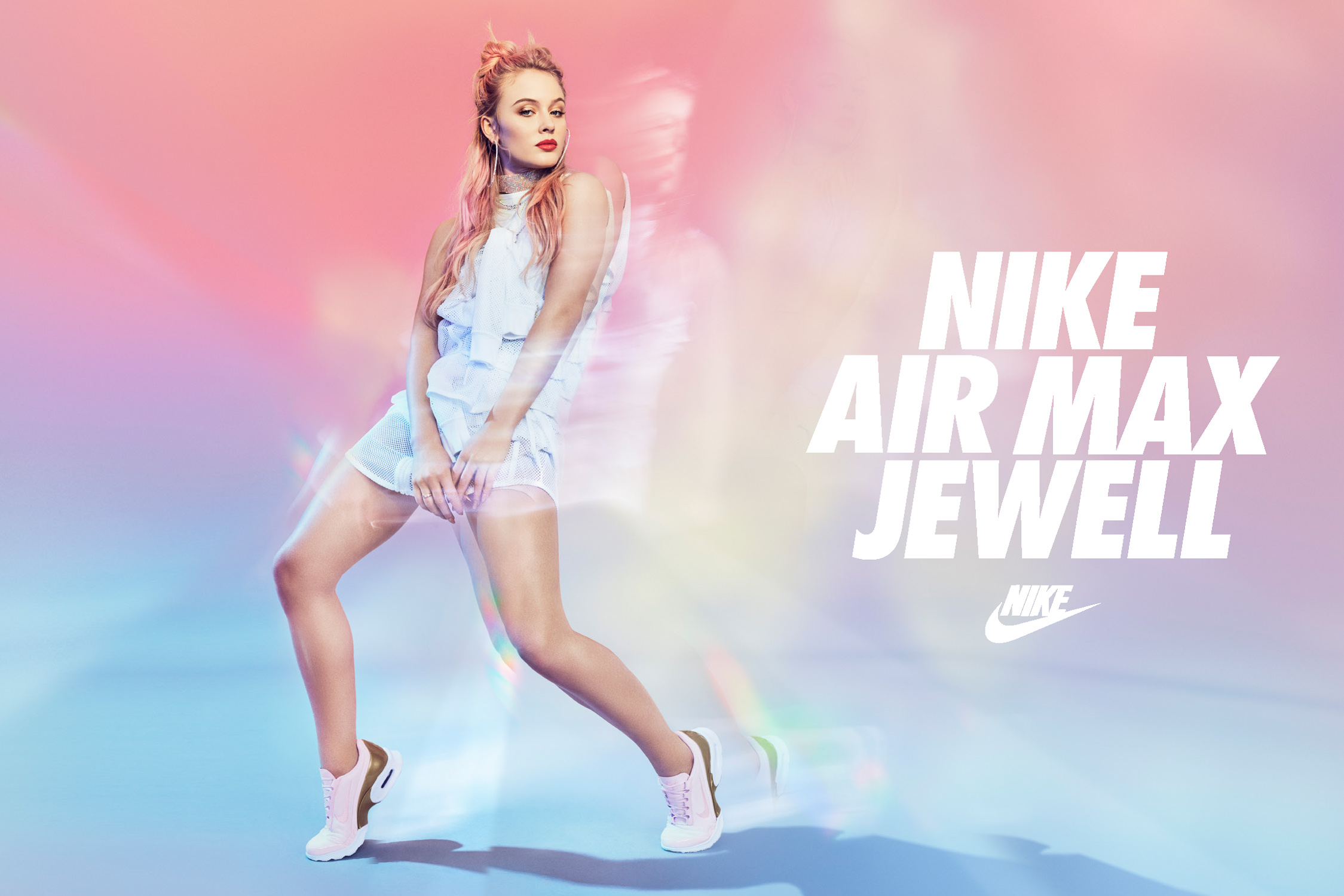 Zara Larsson for Nike by Marc de Groot