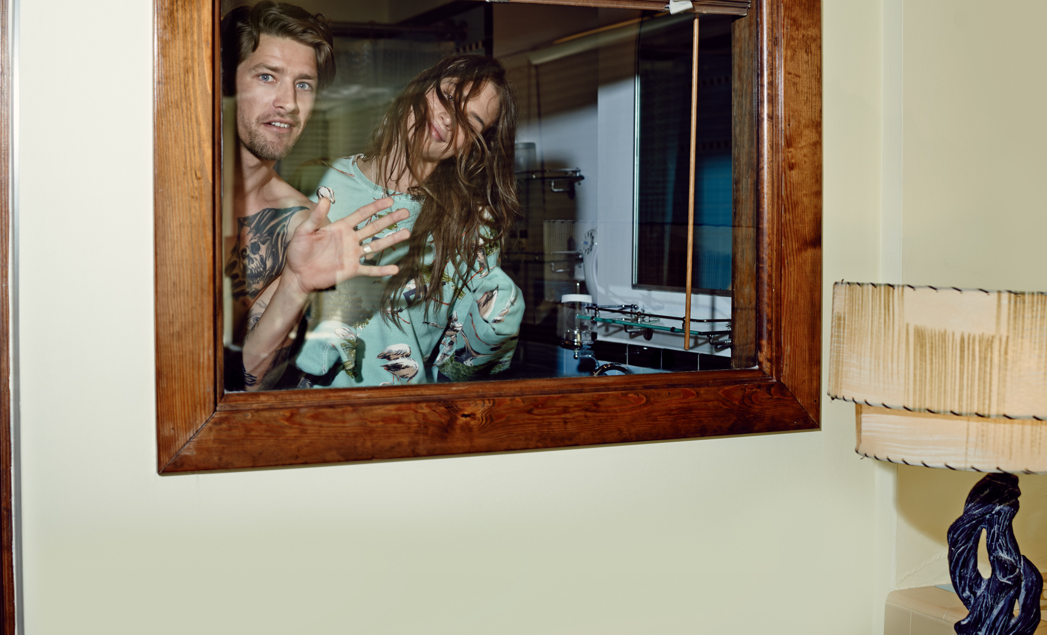 Crista Cober and Vinnie Woolston  for Scotch and Soda by Marc de Groot