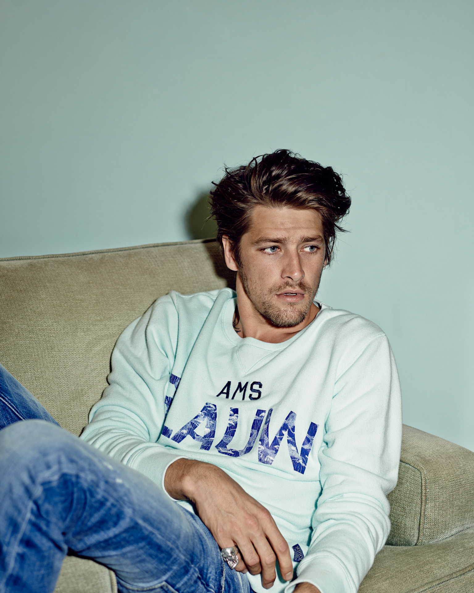 Vinnie Woolston  for Scotch and Soda by Marc de Groot